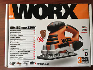 WORX Finishing Sander WX640.2 NEW O'Halloran Hill Marion Area Preview