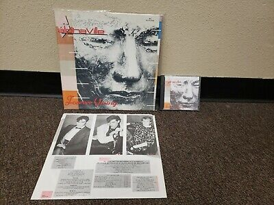Alphaville ‎– Forever Young 1984 Atlantic ‎80186  Vinyl Record + CD Free S/H