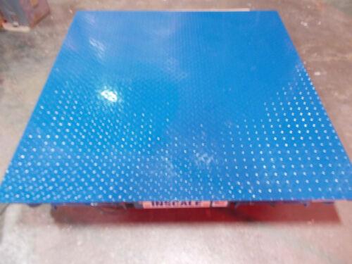 Inscale FS44-10K 48 x 48 In 10,000 Lb Class III  Floor Scale w/ TI-500E Display