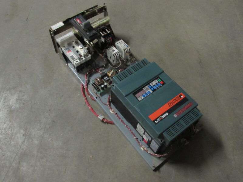 EATON/CUTLER-HAMMER 6AF1410844 MCC BUCKET 3PH 480V 7.5HP/7.5HP W/DRIVE *XLNT*