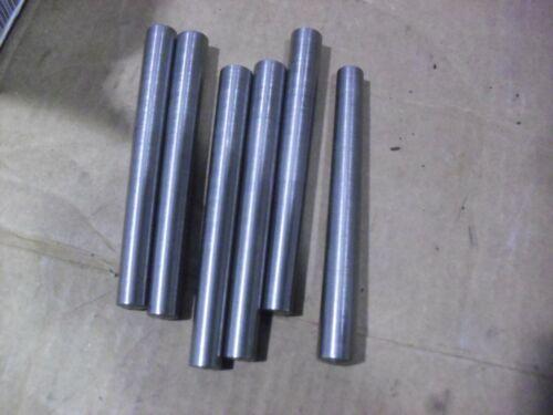 """SIX !! Steel Taper Pins # 10 x 6"""""""
