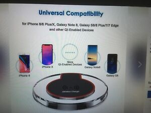 Wireless charger for iPhones, Galaxy, some others