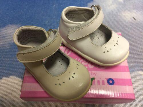 Josmo Hook & Loop Leather Mary Jane First Step Walker Infant