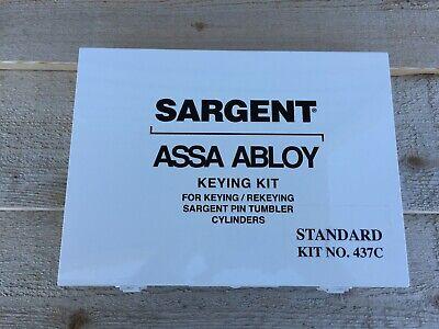 Sargent Assa Abloy Keying Pinning Kit 437c Standard Fast Free Shipping