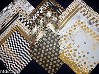 12x12 Scrapbook Paper Studio Cardstock Glamorous Formal Party Gold Wedding 40 (Gold Card Stock)