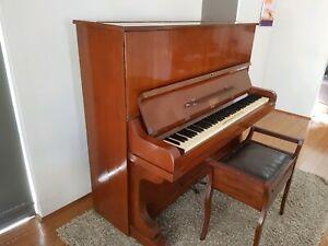 Piano and Accompanying Chair