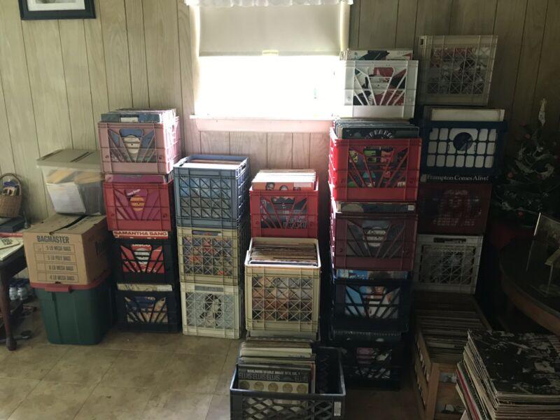DJ Disco Record Collection