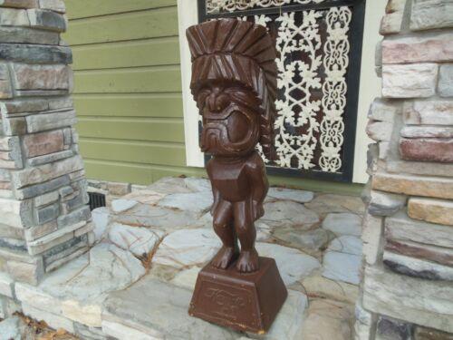 """Vintage Hawaii United Airlines 31"""" Tiki God Statue 1970"""