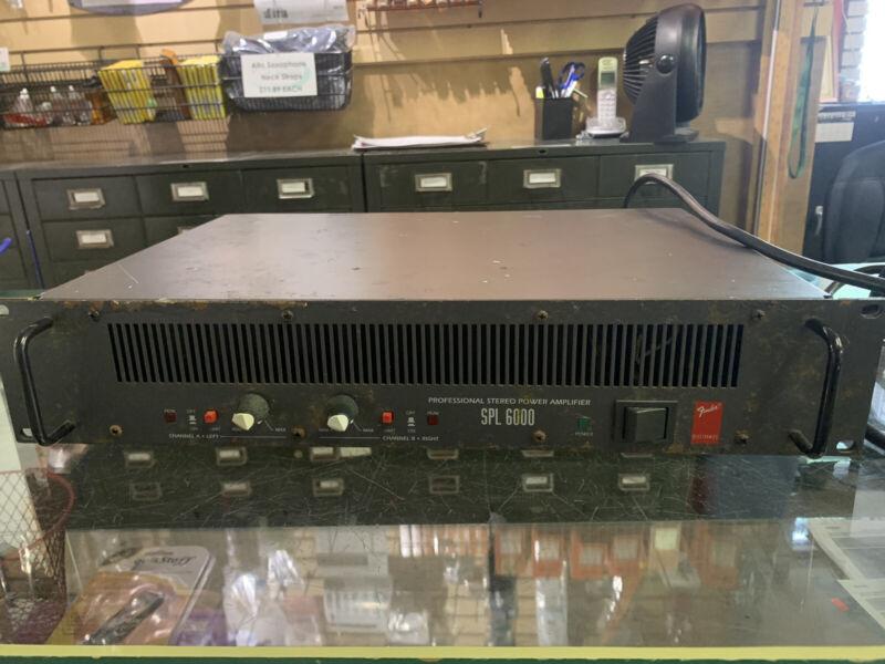 Fender SPL 6000 Stereo Power Amplifier