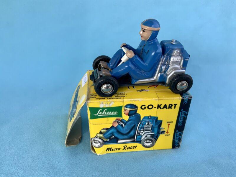 # Altes Schuco Go Kart 1035 Micro Racer  (61802) Blechspielzeug Ovp