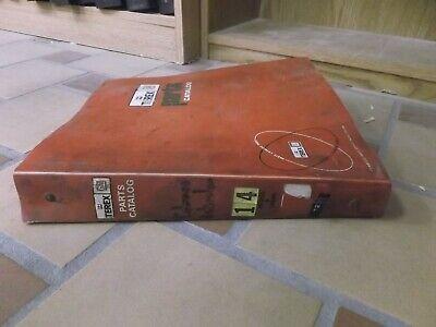 Terex 72-71 Front End Wheel Loader Parts Catalog Manual
