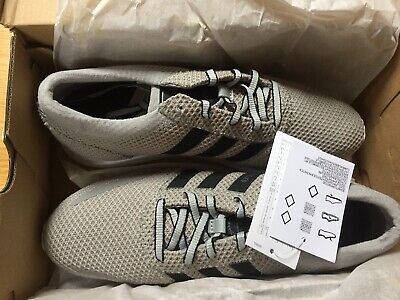 Adidas Los Angeles Trainers Mens Grey Size UK 9 With Original Box