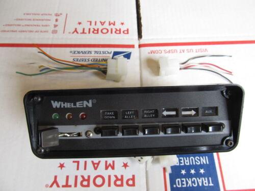 Whelen PCCS9NP Programmable Power Control Center Switch Panel PN: 01-0883861-00