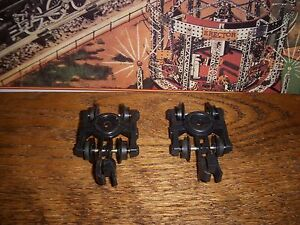 ONE PAIR AMERICAN FLYER PIKEMASTER TRUCKS/COUPLERS & WHEELS FOR PARTS LOW PRICE