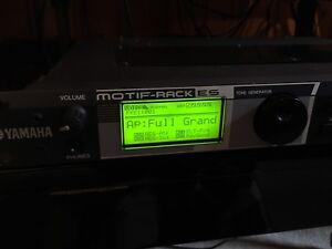 Module de son Yamaha Motif ES (motif-rack)