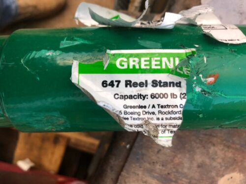 GREENLEE 647 62 in Spindle Heavy Duty  New