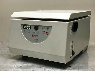 Thermo Scientific CL10 Centrifuge w/ F-G3 Rotor