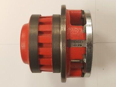 Ridgid 37415 12-r Alloy Diehead Manual Rh Threader 2 Npt 3e-a0019