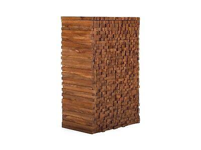 Flurmöbel Kommode Sideboard massiv Holz Mango Akazie Schränke Möbel Abadi