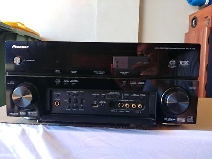 Pioneer home cinema amplifier and Jensen speakers