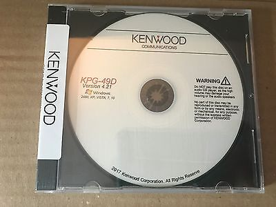 Kenwood KPG-49D Version 4.21 TK780 TK880 TK280 TK380 Programming Software