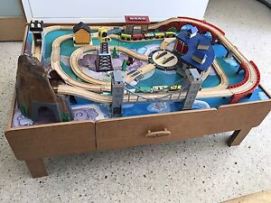 Imaginarium roundhouse wooden train table Alberton Port Adelaide Area Preview
