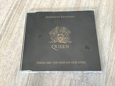 QUEEN - Bohemian Rhapsody / These are the days - 2-track CD single