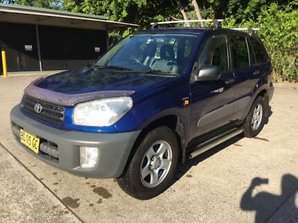 2001 Toyota RAV4 SUV Mayfield East Newcastle Area Preview
