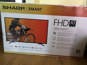 "SHARP 40"" Smart Tv"