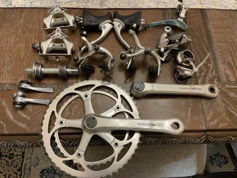 Vintage Shimano 600 Components Group