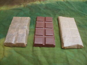 WW1 / WW2 Army Ration Chocolate - To original Spec