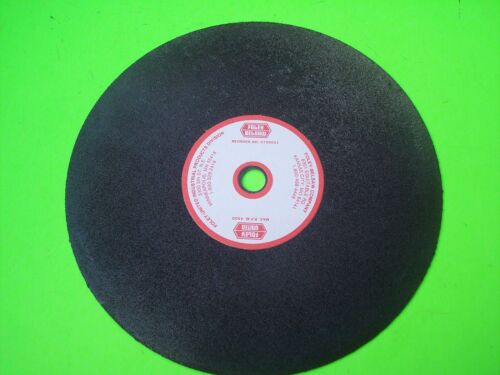 """3700021 Foley Belsaw Grinding Wheel 8"""" Dia x 1/2"""" Arbor x 1/16"""" thickness"""