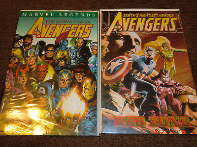 Avengers Korvac Saga Red Zone Tpb  Spiderman Thor Guardian Galaxy Oop Rare