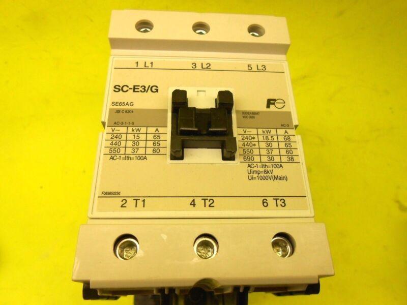 FUJI ELECTRIC FA SC-E3/G Reversing Contactor