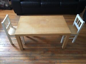 Table pour enfants/ table & chairs for kids