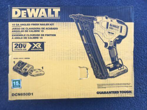 DeWalt 20V Max XR Brushless 15 Gauge Finish Nailer Lithium-I