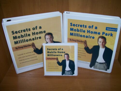 Doug Ottersburg Secrets of a Mobile Home Millionaire CD Real Estate Course