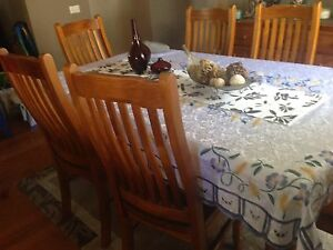 Dining table with buffe Kings Park Brimbank Area Preview