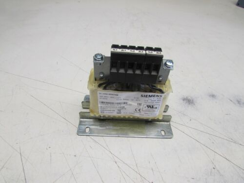 SIEMENS 6SL3203-0CE13-2AA0 3PH LINE REACTOR 380-480V 4.0A NEW NOT IN BOX M/O!!