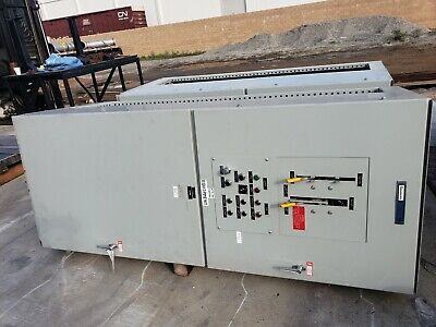 Russelectric Model Rtb-4004ce Automatic 400 Amp Transfer Switch