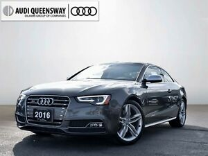 2016 Audi S5 3.0T, Navi, No Accidents, 333HP Supercharged