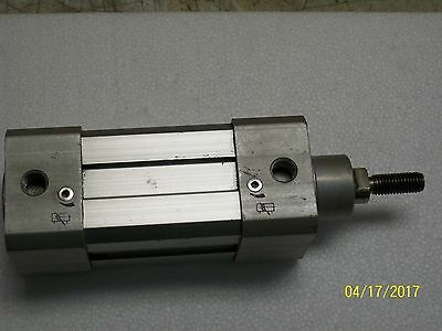 Bimba Metric Square Pneumatic Cylinder 10 Bar Max 6a5-113-a-50