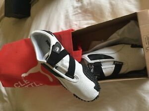 Puma Mostro Perf Leather White and black sneaker
