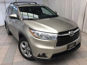 2016 Toyota Highlander Limited, 34,198 km, Navi, Pano Roof