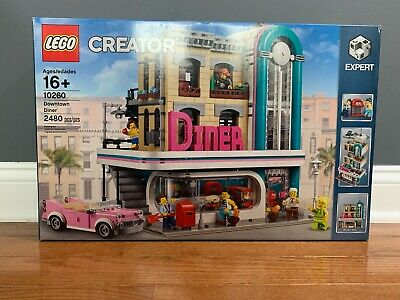 LEGO 10260 Creator Expert Downtown Diner Brand NEW IN BOX OOS at LEGO