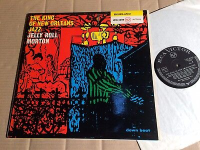 JELLY ROLL MORTON - THE KING OF NEW ORLEANS JAZZ - LP - LPM-1649 - MONO
