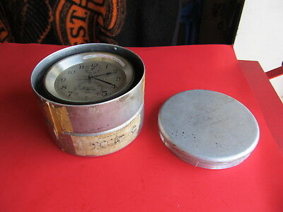 Vintage WW2 WWII World War 2 1941 Hamilton Chronometer w/ Shipping Container