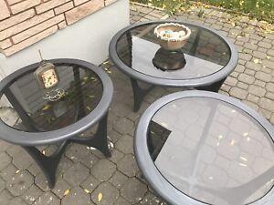 Living Room Table Trio
