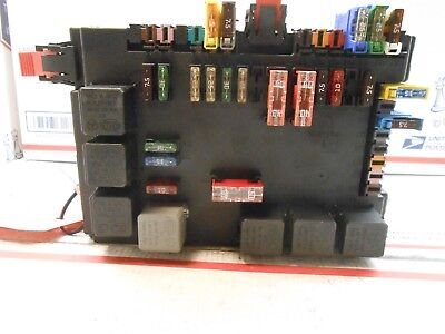 07 mercedes s550 sedan sam lamp fuse box control mod 2215450801 rh ebay com