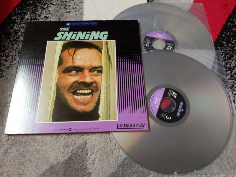 The Shining Laserdisc Japan 10JL-1079 Horror Jack Nicholson